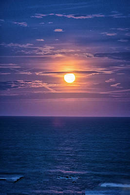 Photograph - Asbury Super Moon by Tom Singleton