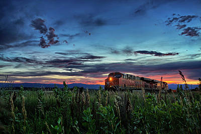 Caboose Photograph - Ascend by Thomas Zimmerman