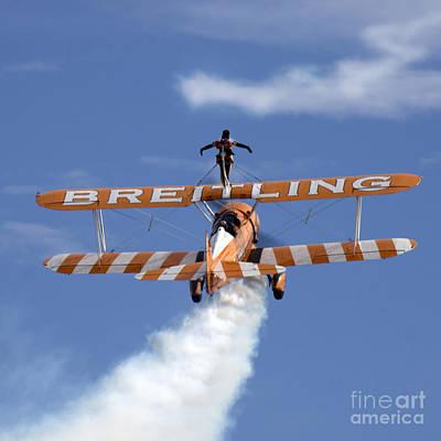 Breitling Photograph - Ascending by Angel  Tarantella