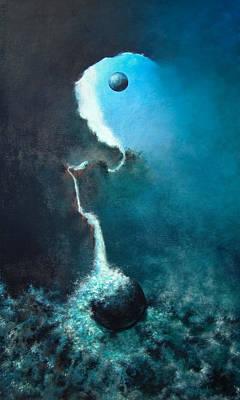 Ascending Art Print by DEVARAJ DanielFranco