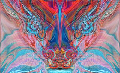 Ascending Prayers Art Print by Elva Robinson