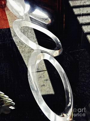 Photograph - Ascending Rings by Sarah Loft