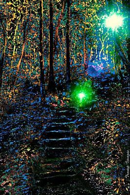 Digital Art - Ascending by Wesley Nesbitt