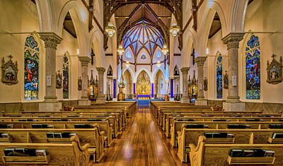 Photograph - Ascension Catholic Church by Andy Crawford