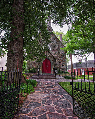 Photograph - Ascension Episcopal Church by Mark Dodd