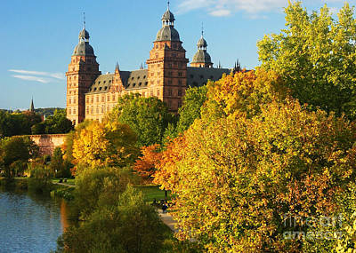 Photograph - Aschaffenburg Bavaria 2 by Rudi Prott
