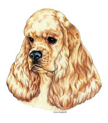 Ascob American Cocker Spaniel Art Print