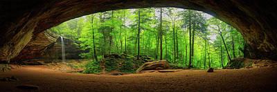 Photograph - Ash Cave 3  by Emmanuel Panagiotakis