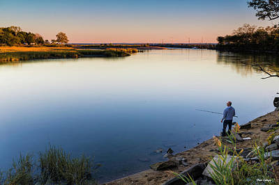 Photograph - Ash Creek Fisherman by Fran Gallogly