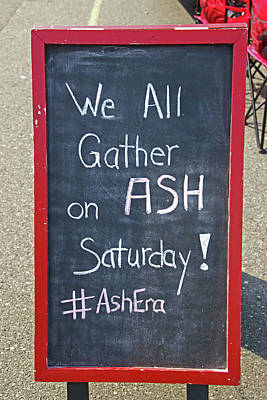 Photograph - Ash Saturday by Allen Beatty