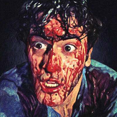 Bruce Art Painting - Ash Williams by Taylan Apukovska