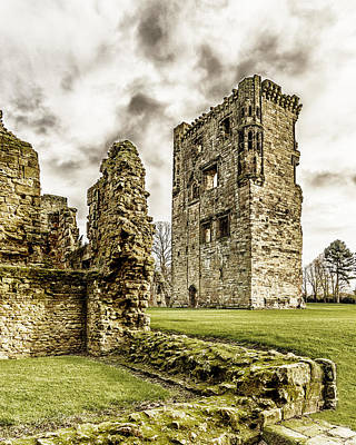 Ashby Castle Art Print