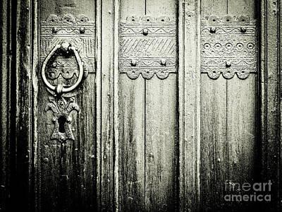 Photograph - Ashby-de-la-zouch Church Door by Lexa Harpell