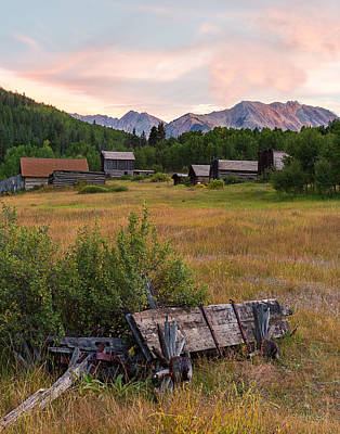 Photograph - Ashcroft Ghost Town by John Vose