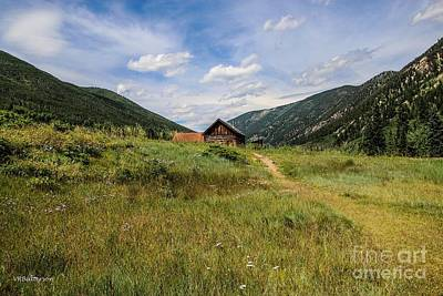 Ashcroft Ghost Town Photo Four Art Print by Veronica Batterson
