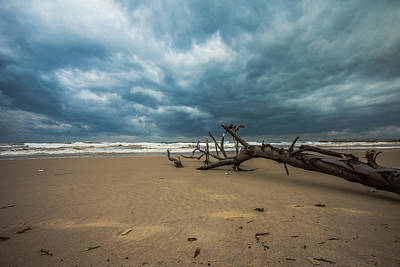 Photograph - Ashdod Seascape by Mark Perelmuter