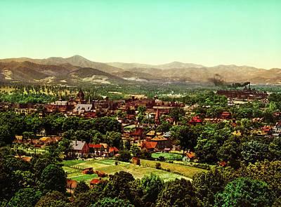 Asheville North Carolina 1902 Art Print by Mountain Dreams