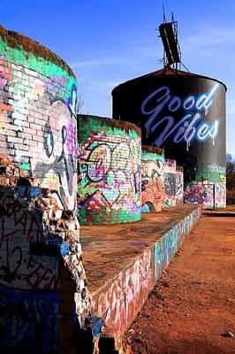Photograph - Asheville River Arts Graffiti by Carol Montoya