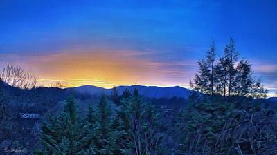 Photograph - Asheville Sunrise by Brian Shepard