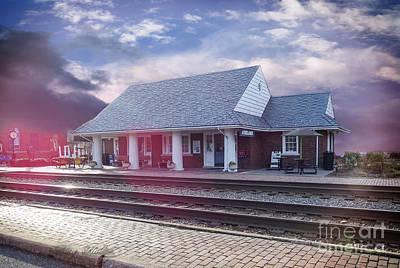 Photograph - Ashland Train Station by Melissa Messick