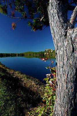 Photograph - Ashley Reservoir by Jim Gillen