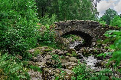 Photograph - Ashness Bridge #2 by Elvis Vaughn