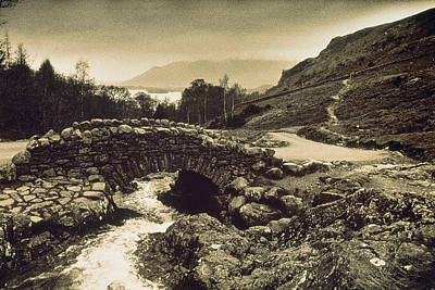 Ashness Bridge Cumbria England Art Print by Panoramic Images