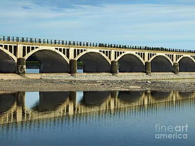 Photograph - Ashokan Reservoir Bridge Photograph by Kristen Fox