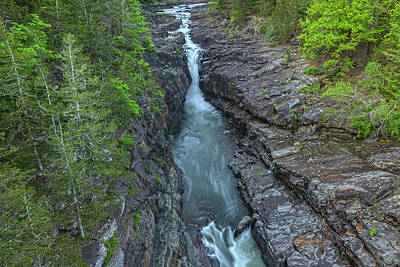 Photograph - Ashokan Spillway Gorge by Angelo Marcialis