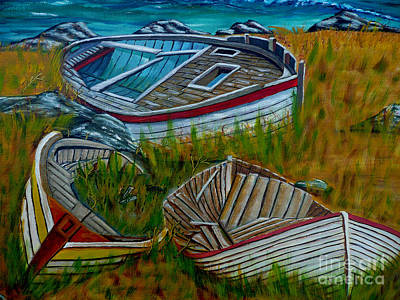 Painting - Ashore For Good by Anthony Dunphy