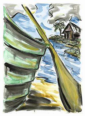 Painting - Ashore by Robert Joyner