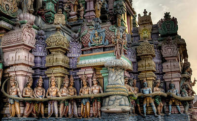 Photograph - Ashtalakshmi Temple 2 by John Hoey