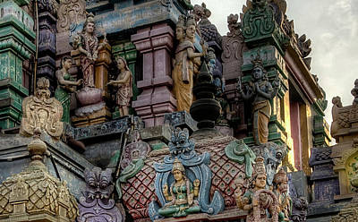 Photograph - Ashtalakshmit Temple 3 by John Hoey