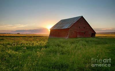 Photograph - Ashton Barn by Idaho Scenic Images Linda Lantzy