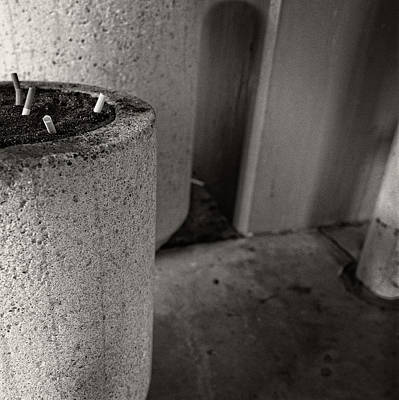 Photograph - Ashtray 1 Noho Parking Structure by YoPedro