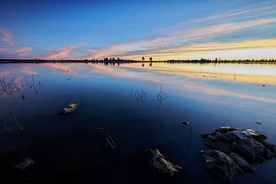 Flagstaff Wall Art - Photograph - Ashurst Lake Sunrise by Jon Glaser