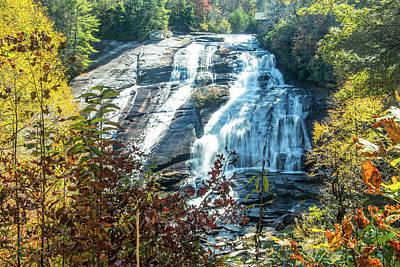 Photograph - Ashville Area Waterfall by Richard Goldman