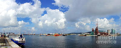 Photograph - Asia Bay Project And Kaohsiung Port by Yali Shi