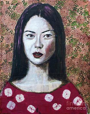 Fabric Mixed Media - Asia by Jill Van Iperen
