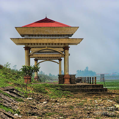 Binh Photograph - Asian Architecture I by Chuck Kuhn