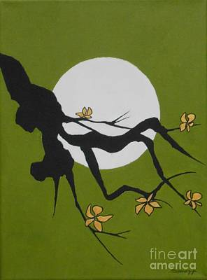 Painting - Asian Branch Icon No. 1 by Jayne Somogy