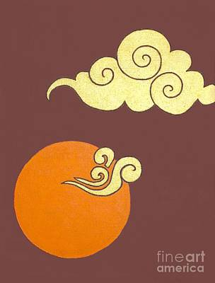 Painting - Asian Cloud Icon No. 1 by Jayne Somogy