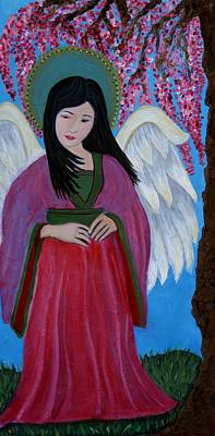 Asian Earthangel Tuyen Art Print