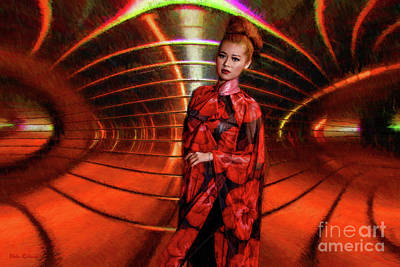 Photograph - Asian Fashion Of The Future by Blake Richards