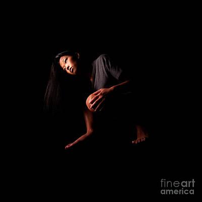 Photograph - Asian Girl 1284531 by Rolf Bertram