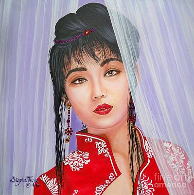 Painting - Asian Girl by Sigrid Tune