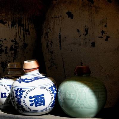 Japanese Ceramics Photograph - Asian Spirits by Al McDermid