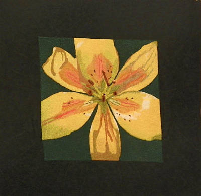 Mixed Media - Asiatic Lily by Jenny Williams