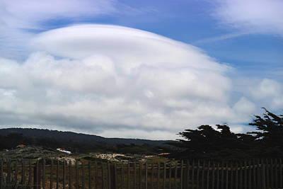 Photograph - Asilomar Clouds by Joyce Dickens