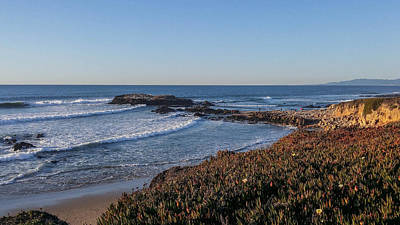 Photograph - Asilomar Shoreline by Mark Barclay